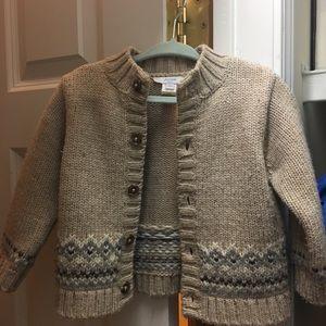 Beautiful Jacadi Wool Sweater!